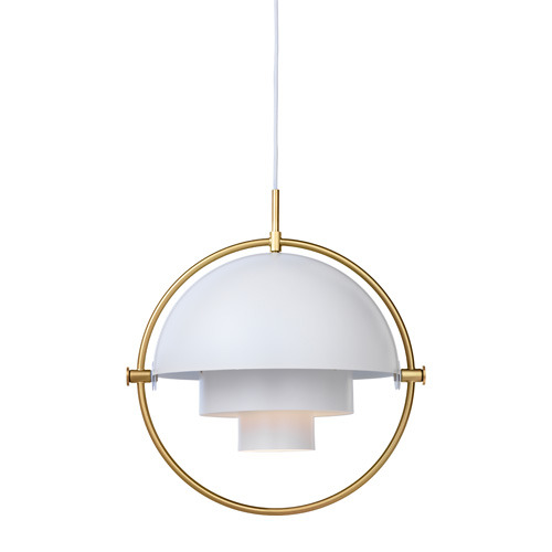 Multi-Lite Pendant Brass base/White [재고문의]