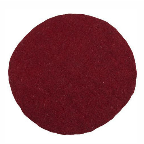 Kali Rug 120cm Dark Red
