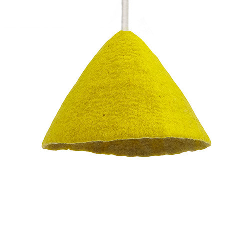 Lampshade S Sulfur Flower/Lemon Grass