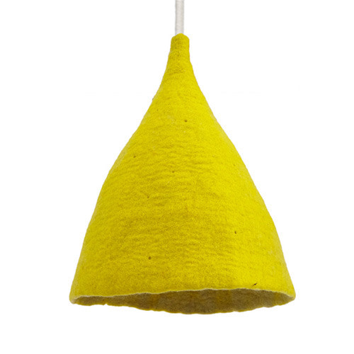 Lampshade H Sulfur Flower/Lemon Grass