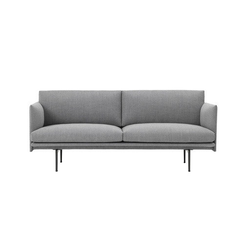 Outline Sofa 2-Seater Textile