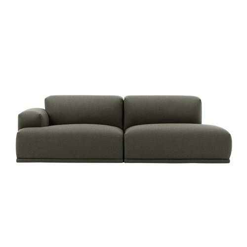 Connect Modular Sofa 2-seat Open End Configuration