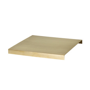 Tray For Plant Box Brass