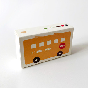 Pocket Crayon Block Schoolbus