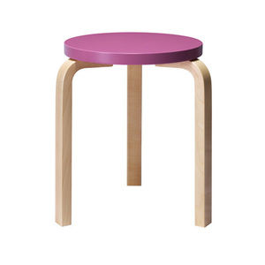 Stool 60 Purple/Birch [주문후 5개월 소요](5% Discount 5.21-6.8)