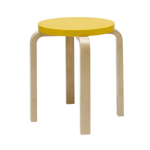 Stool E60 Yellow/Birch (5% Discount 5.21-6.8)