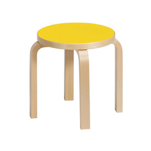 Children's Stool NE60 Yellow/Birch