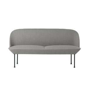 Oslo Sofa 2-Seater  Fiord 151/dark Grey base D/P 상품  전화문의