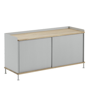 Enfold Sideboard Low Oak/Grey