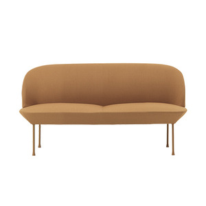 Oslo Sofa 2-Seater Vidar 472/Burnt Yellow Legs