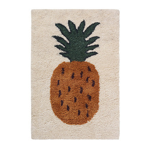 Fruiticana Tufted Pineapple Rug Small