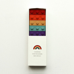 Pocket Crayon Block Rainbow