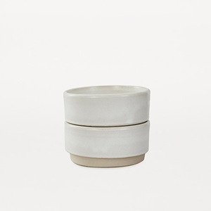 Otto Bowls White M Set of 2 (30% sale)