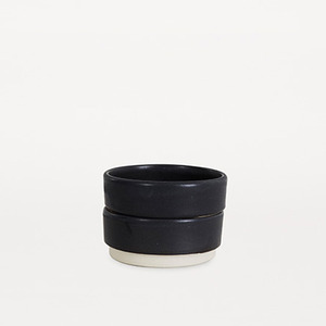 Otto Bowls Black S Set of 2 (30% sale)