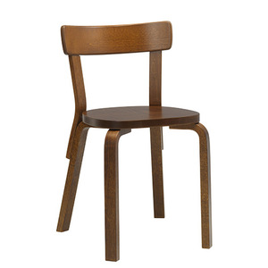 Chair 69 Walnut/Walnut Stained Birch [주문후 5개월 소요]