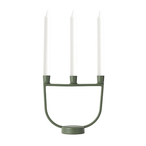 Open Candelabra Green