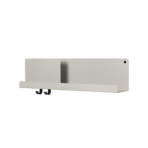 Folded Shelves Medium Grey