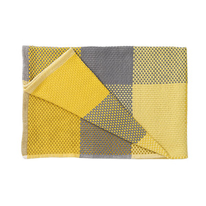 Loom Throw Yellow