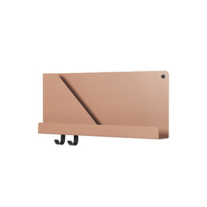 Folded Shelves Small Light Terracotta