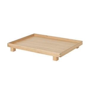 Bon Wooden Tray Large Oak [주문 후 3개월 소요]