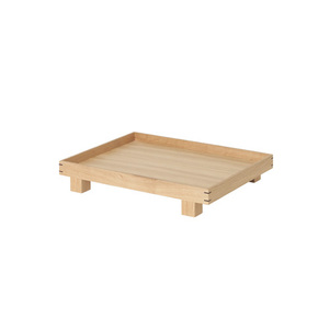 Bon Wooden Tray Small Oak [주문 후 3개월 소요]