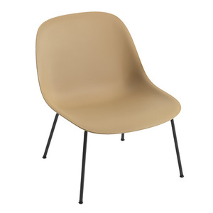 Fiber Lounge Chair Ochre/Black