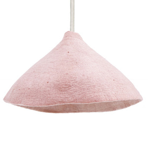 Lampshade W Quartz Pink/Natural