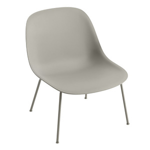 Fiber Lounge Chair Grey