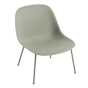 Fiber Lounge Chair Dusty Green