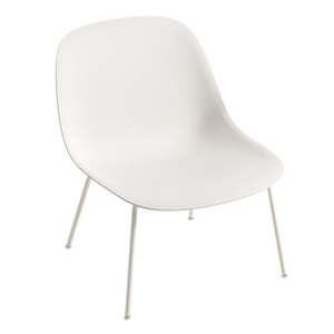 Fiber Lounge Chair White