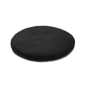 Chakati Round Cushion Black