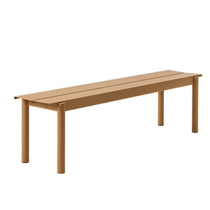 Linear Steel Bench 170x34cm