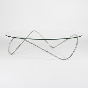 Kaeko Coffee Table Polished Stainless Steel