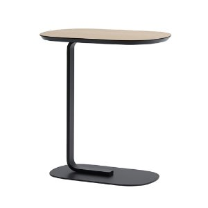 Relate Side Table Oak/Black  주문 후 2개월 소요