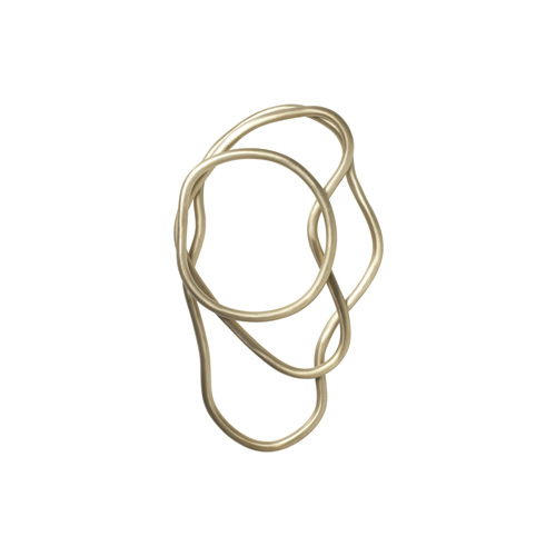 Pond Trivets Set of 3 Brass