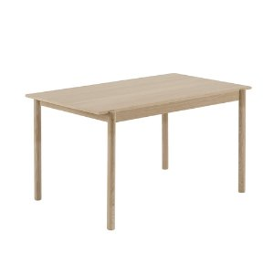 Linear Wood Table 140cm