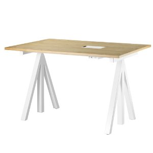 Works Height-adjustable Work Desk Oak