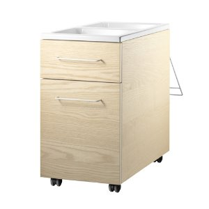 Works Mobile Storage Unit Ash