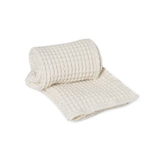 Organic Bath Towel Off-White