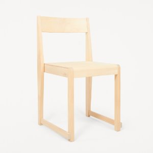 Chair 01 Natural Wood Frame/Natural Wood Seat