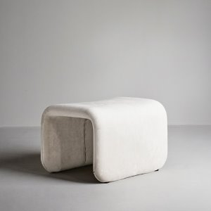 Etcetera Footstool Creme White  현 재고