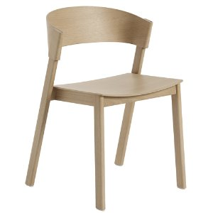 Cover Side Chair Wooden Seat Oak  3월 말 입고예정