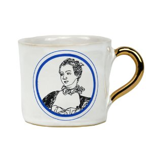 Alice Medium Coffee Cup Madame de Pompadour