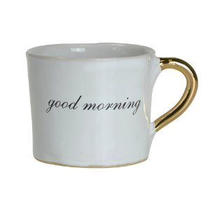 Alice Medium Coffee Cup Glam Good Morning