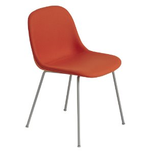 Fiber Side Chair Tube Base Forest Nap 552/Grey