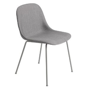 Fiber Side Chair Tube Base Remix 133/Grey