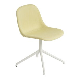 Fiber Side Chair Swivel Base W.O Return Balder 432/White