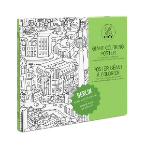 Giant Coloring Poster - Berlin