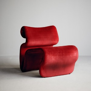 Etcetera Easy Chair Ruby Red