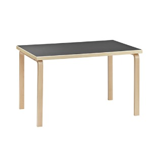 Aalto Table 81B Black/Birch 주문후 2~3개월 소요